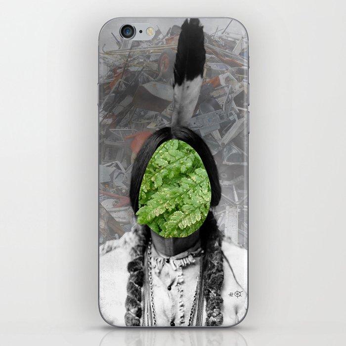 Sitting Bull - Collage iPhone Skin