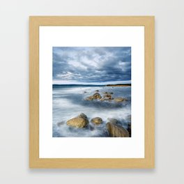Inundating Seas Framed Art Print