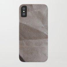 Brown bagging it. Slim Case iPhone X
