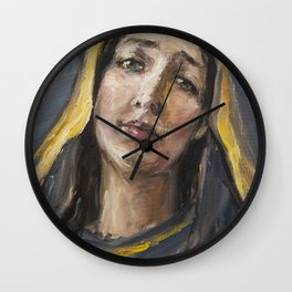 Beloved mother Wall Clock