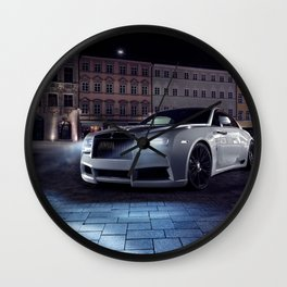 RollsRoyce Wraith Wall Clock