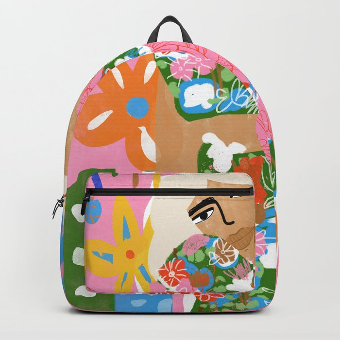 Living in Chaos Backpack