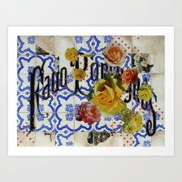 Fado Portuguese Art Print