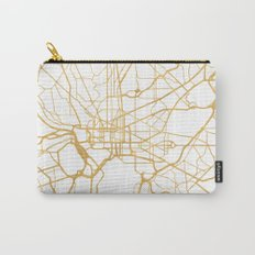 WASHINGTON D.C. DISTRICT OF COLUMBIA CITY STREET MAP ART Carry-All Pouch