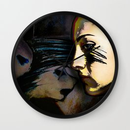 Mean Spirited Gossip Wall Clock