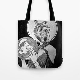 To Follow Your Heart, Abandon Your Head Tote Bag