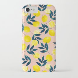 Lemony Goodness iPhone Case