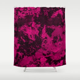 Marble-Pink Shower Curtain