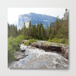 Mountain in the Distance Metal Print