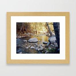 Azusa Canyon Framed Art Print