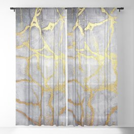 KINTSUGI  ::  Recognise Beauty Sheer Curtain