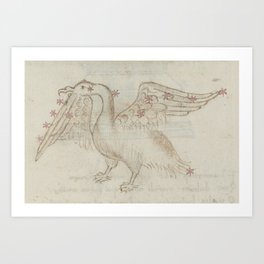 Basinio de Parma - Cygnus, the Swan (1540s) Art Print
