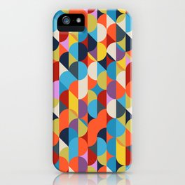 Simple Circle Pattern. iPhone Case