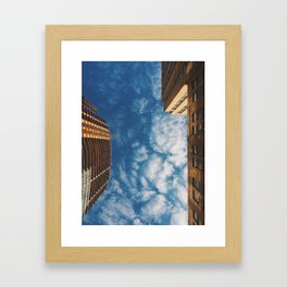 Wild Blue Yonder: No Ceilings Framed Art Print