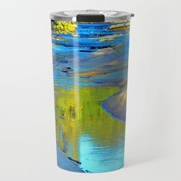 Sunset at the bar Travel Mug