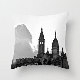 sacre-coeur Throw Pillow