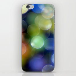 Colorful Bokeh iPhone Skin