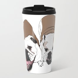 English Bulldogs Travel Mug