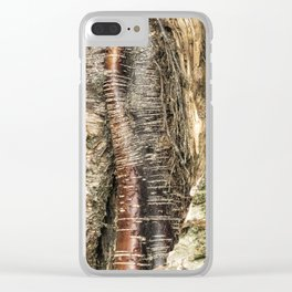 If I Could Read Tree Clear iPhone Case