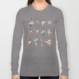 Animal Square Dance Long Sleeve T-shirt