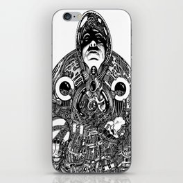 Space Witch iPhone Skin