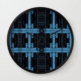 Roseanne - Wellman Plastics - stripes Wall Clock