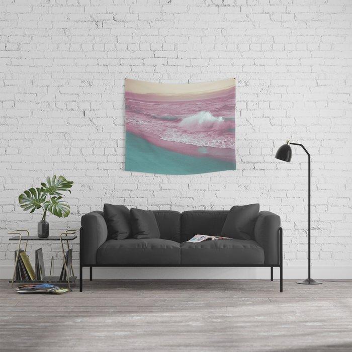 Pop Art Ocean Wall Tapestry