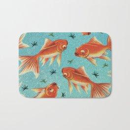 Goldfish Pattern Bath Mat