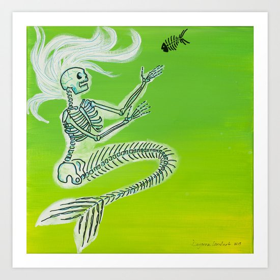 The Seaweed Is Always Greener Art Print