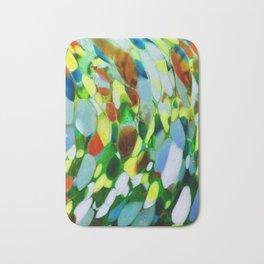 Mexican Rainbow Glass Bath Mat