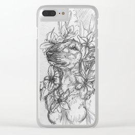 Artists Notes No. 2 - Perceptive Dreamer Clear iPhone Case