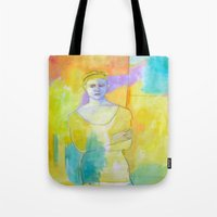 chef Tote Bags featuring Chef by lizmcdonaldstudio.com