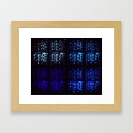 iDeal - Blue Steel - iDeal Multi-layer Framed Art Print