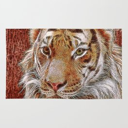 Extraordinary Animals - Tiger 2 Rug