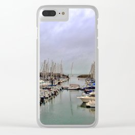 Howth Harbour Clear iPhone Case