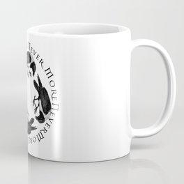 Raven Circle Never More Coffee Mug