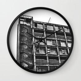Park Hill, Sheffield. Wall Clock