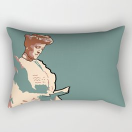 Edith Wharton Rectangular Pillow