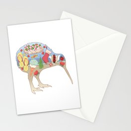 Kiwiana Summer Christmas Stationery Cards