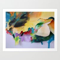 Two at the Same Time, Two Together Art Print
