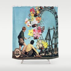 Bloomed Joyride Shower Curtain