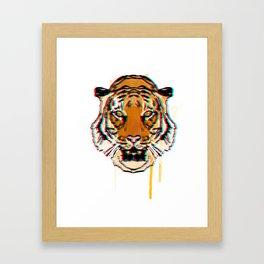 Tiger3d Framed Art Print