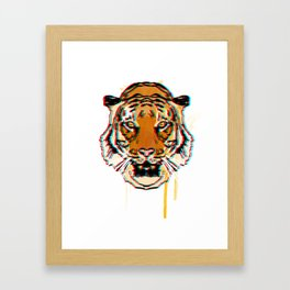 Tiger3d Framed Art Print