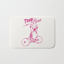 Train Like A Boss Bath Mat