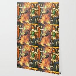 Orange dimension Wallpaper