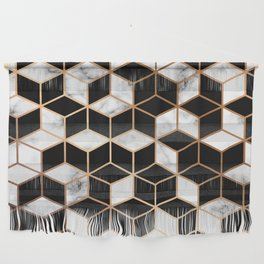 Marble & Geometry 005 Wall Hanging