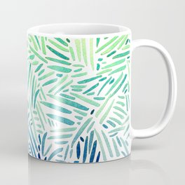 all hatched up chartreuse Coffee Mug