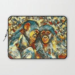 AnimalArt_Chimpanzee_20170601_byJAMColorsSpecial Laptop Sleeve