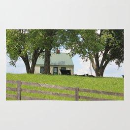 Th cow house Rug