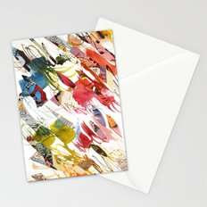 comic letter 1 Stationery Cards